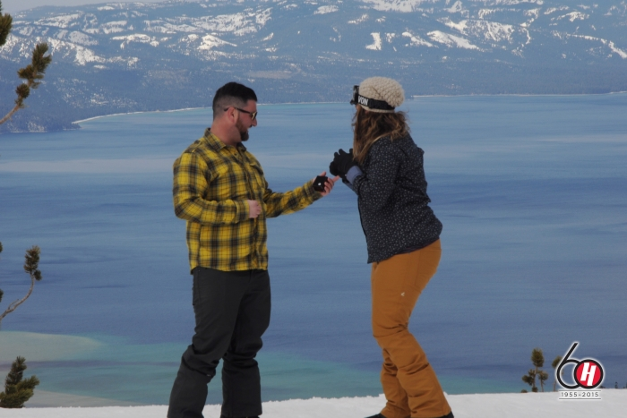 Where to Propose in Heavenly Mountain, Lake Tahoe CA
