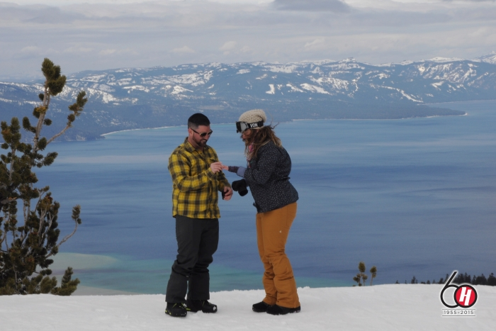 Carolyn's Proposal in Heavenly Mountain, Lake Tahoe CA