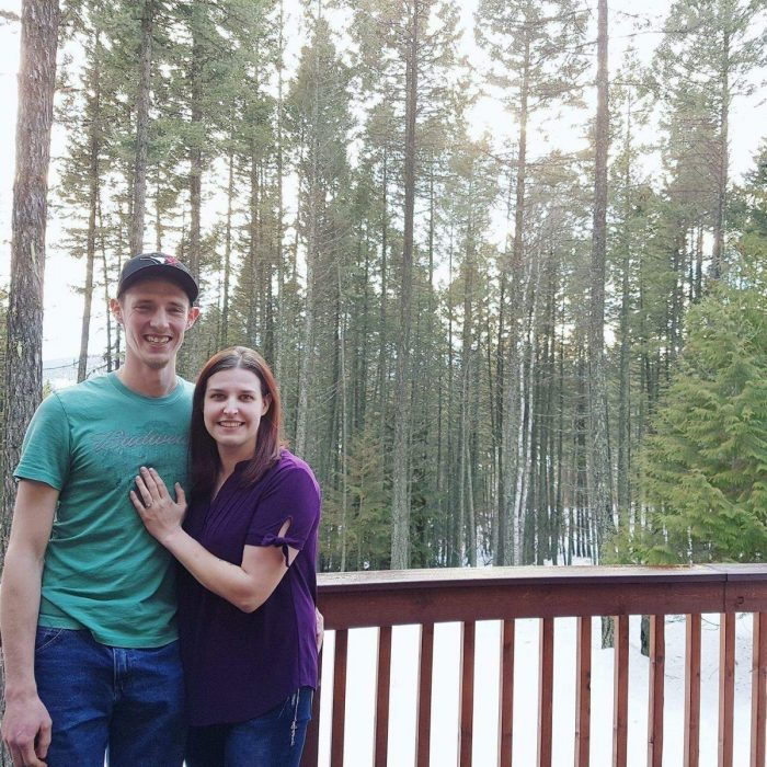 Reanna and Robert's Engagement in Whitefish, Montana