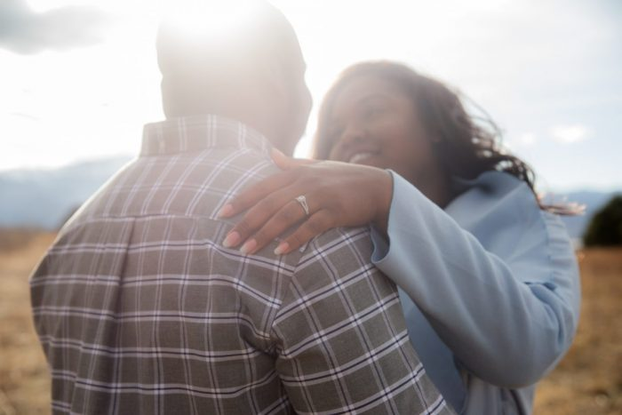 Whitney and Tirrell's Engagement in Colorado Springs, Colorado