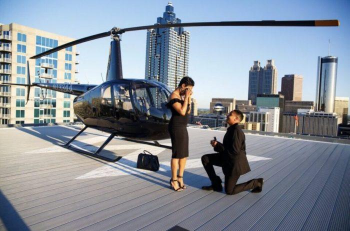 Erica's Proposal in Atlanta
