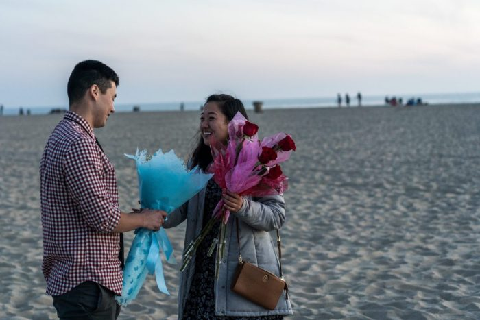 Ray and Heather's Engagement in Santa Monica Pier