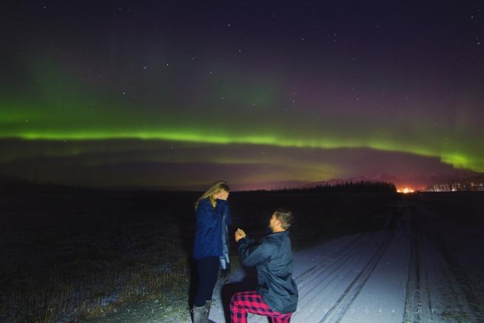 Wedding Proposal Ideas in Anchorage, Alaska
