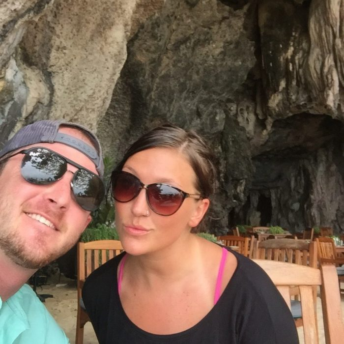Toni and Jesse's Engagement in On a helicopter tour of Aruba