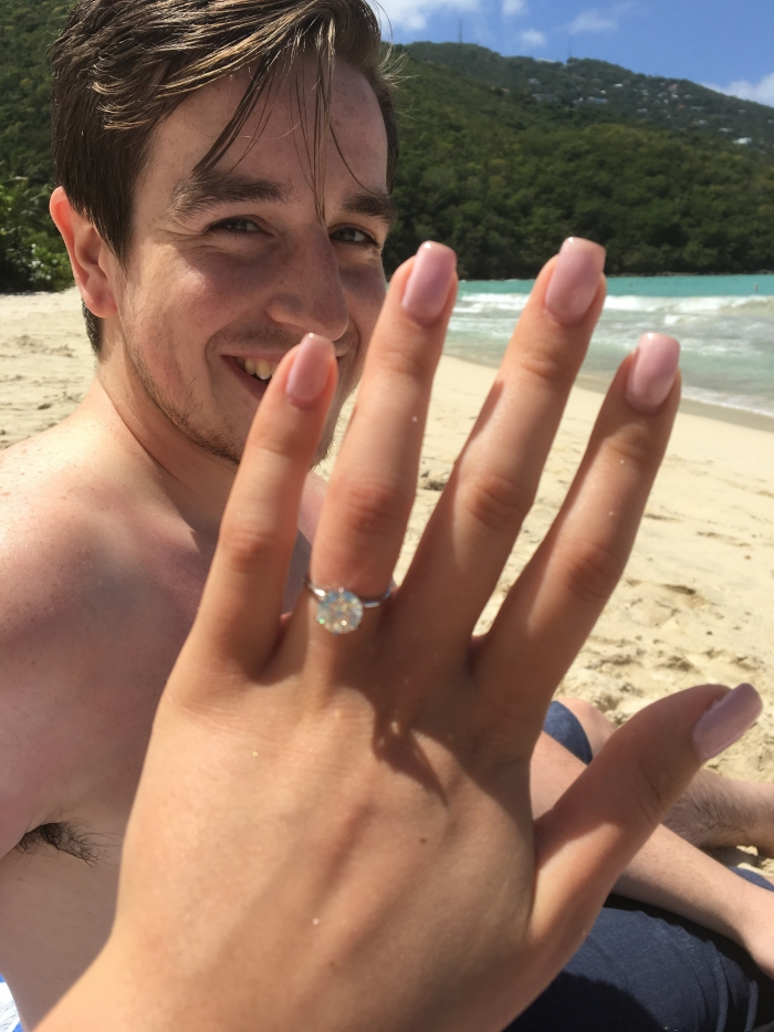 Where to Propose in Magens Bay Beach, St. Thomas, U.S. Virgin Islands