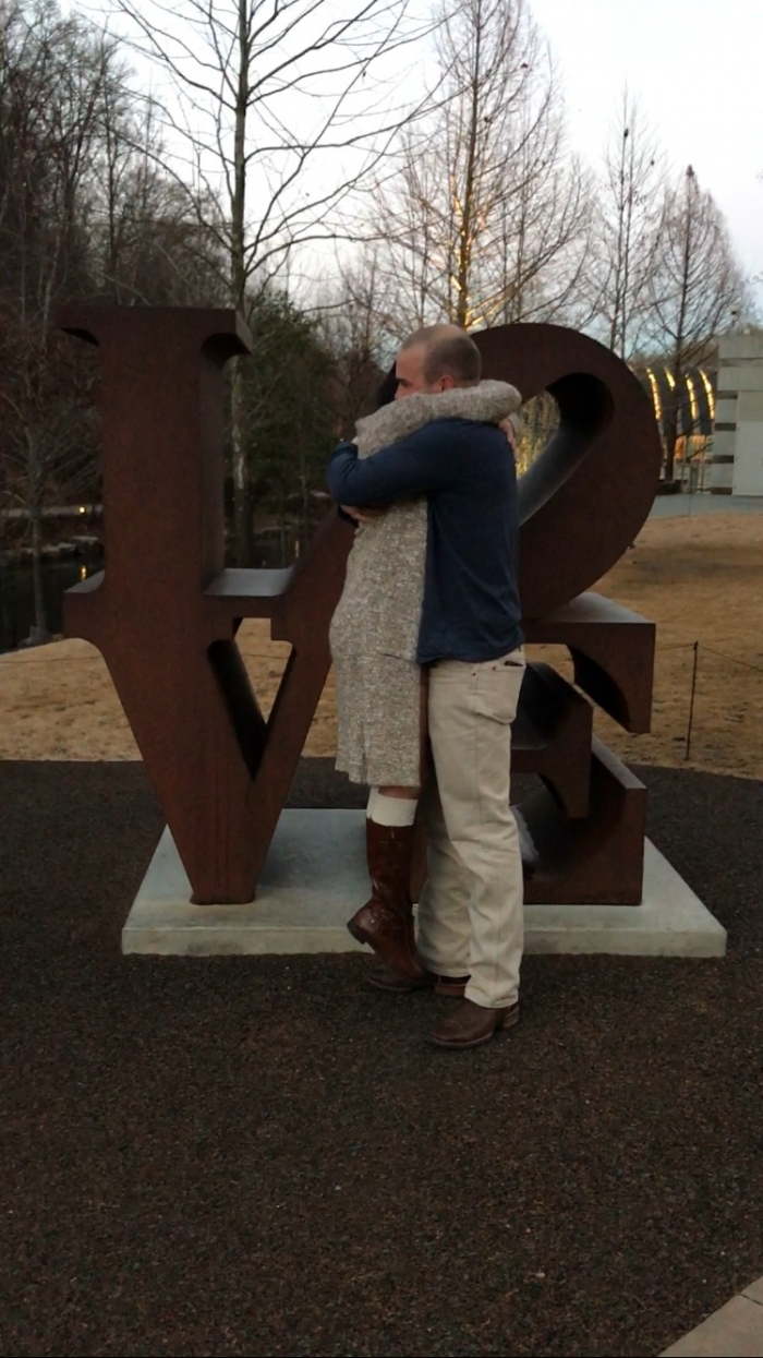 Where to Propose in Crystal Bridges Museum of American Art