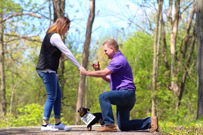 Where to Propose in Forrest preserve