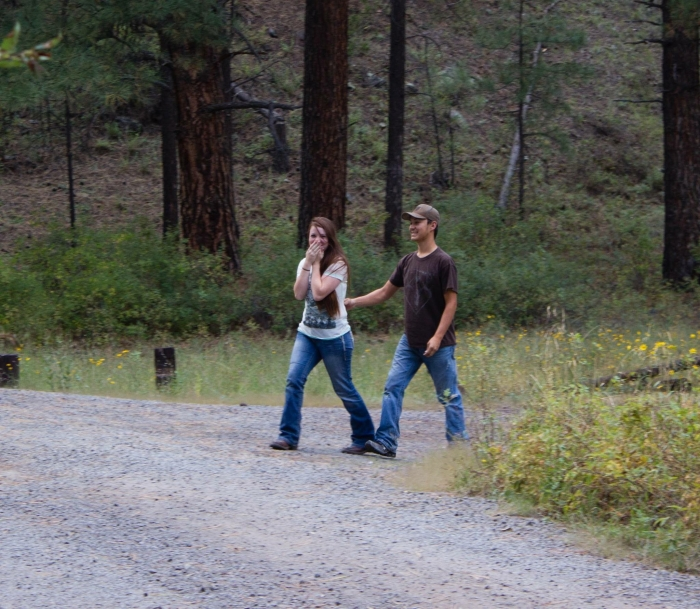 Image 1 of Courtney and Hunter