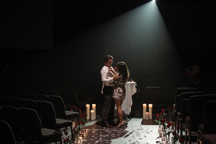 Marriage Proposal Ideas in Red rocks auditorium