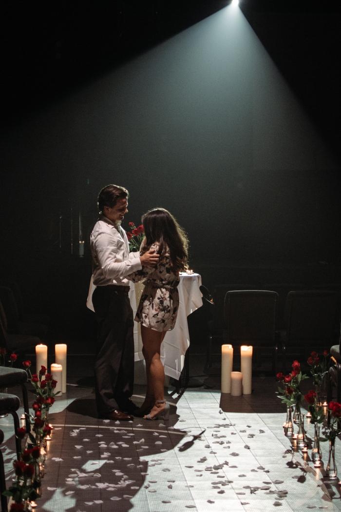 Wedding Proposal Ideas in Red rocks auditorium