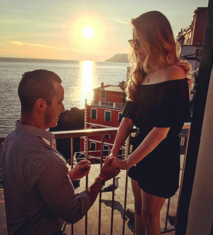Where to Propose in Cinque Terre, italy