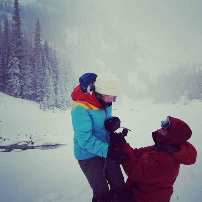 Jordan's Proposal in Rocky Mountain National Park
