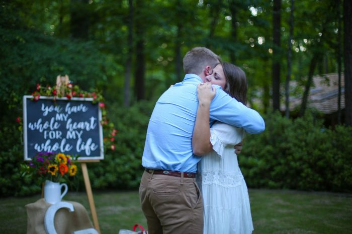 Where to Propose in Garden Woodland Gardens