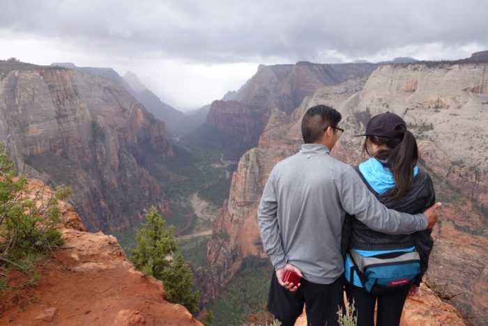 Engagement Proposal Ideas in Zion National Park