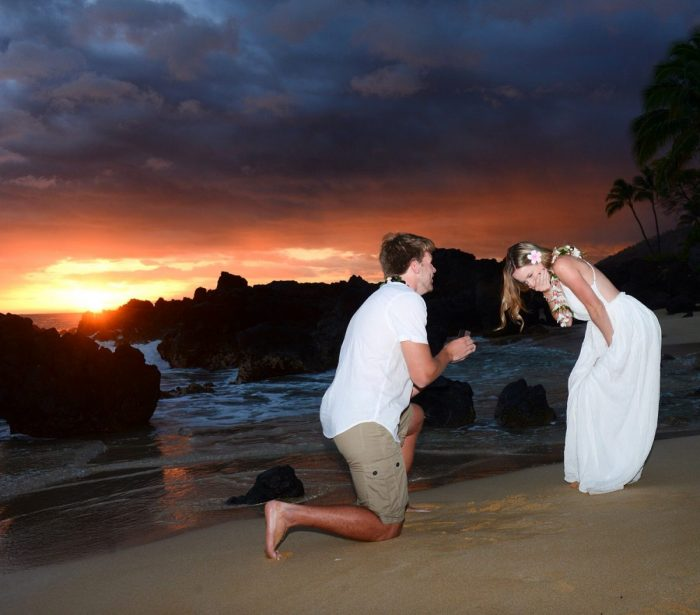 Brittany's Proposal in Maui