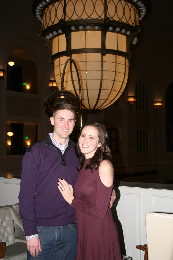 Wedding Proposal Ideas in Union Station - Denver, Colorado