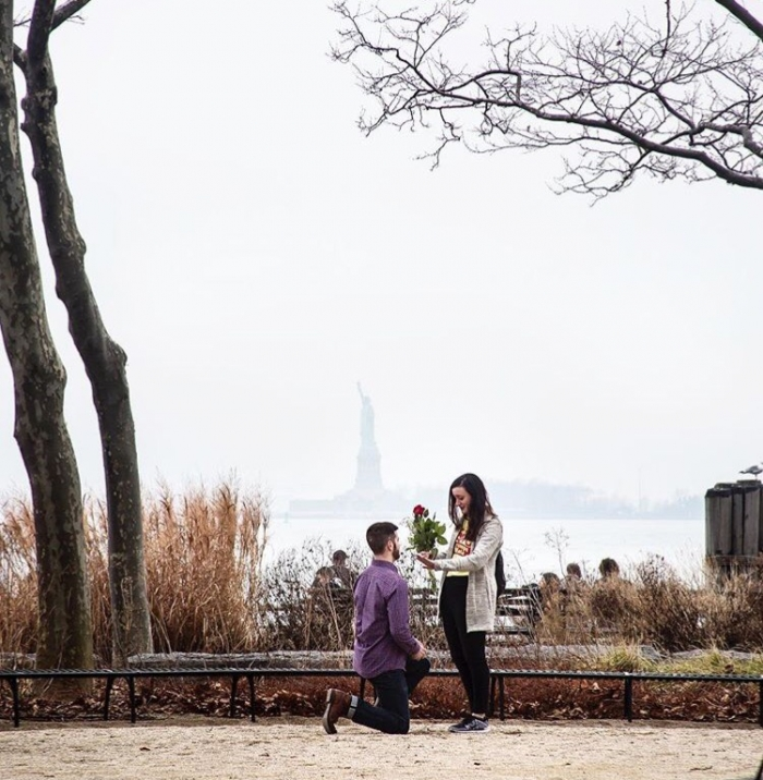 Engagement Proposal Ideas in Battery Park