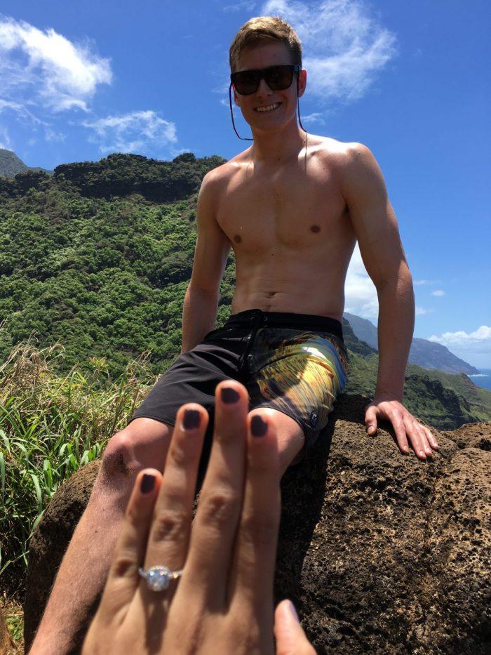 Where to Propose in Na Pali Coast in Kauai