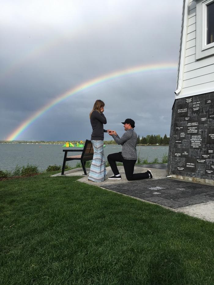 Marriage Proposal Ideas in Sylvan Lake, Alberta
