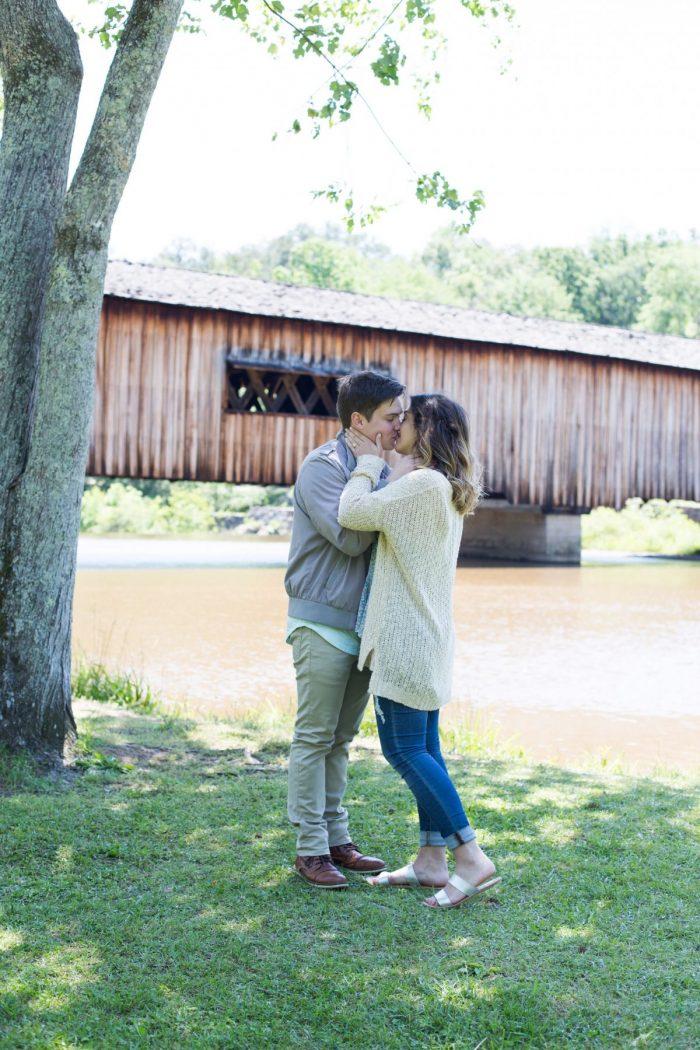 Where to Propose in Watson Mill Bridge State Park (Comer, GA)