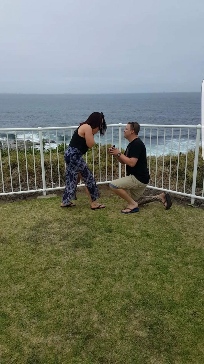 Holly's Proposal in Wollongong