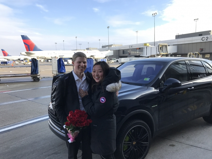 Where to Propose in Salt Lake City Airport
