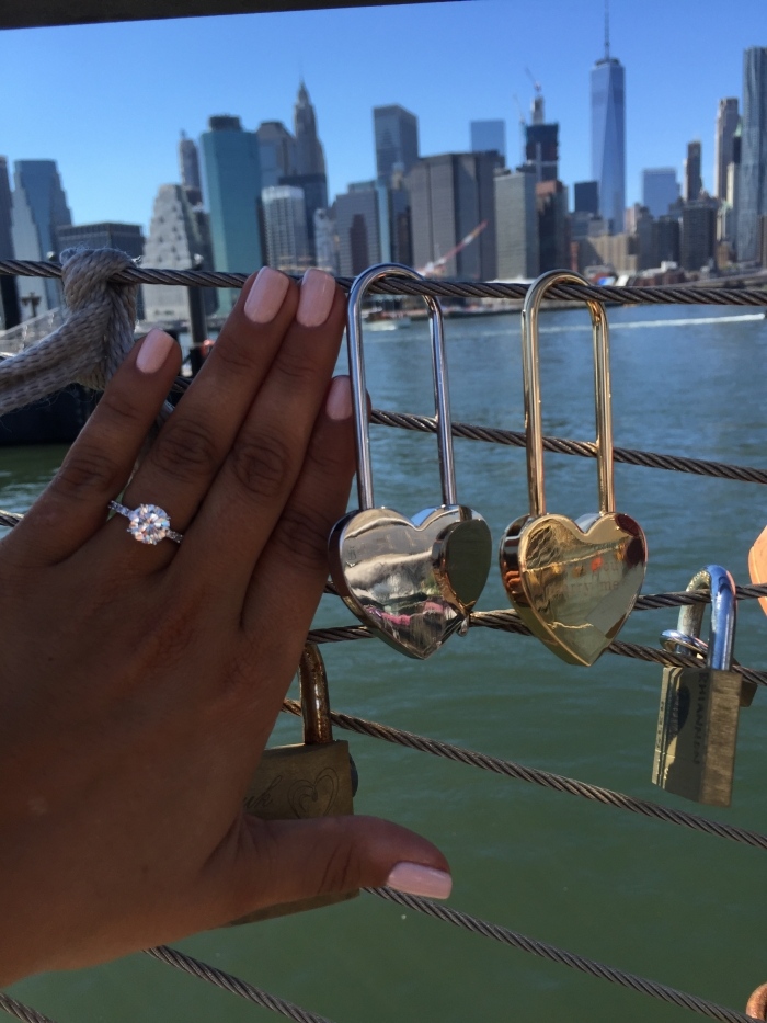Marriage Proposal Ideas in NYC- Brooklyn bridge pier