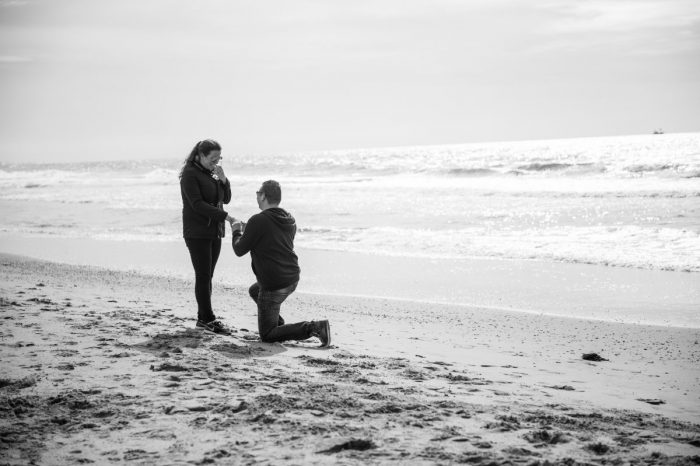 Wedding Proposal Ideas in At the beach