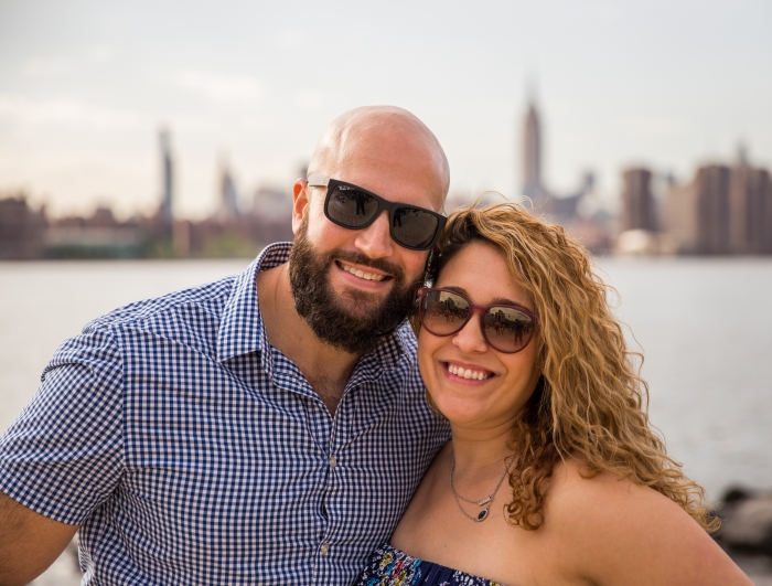 Wedding Proposal Ideas in Smorgasburg in Williamsburg, Brooklyn, New York