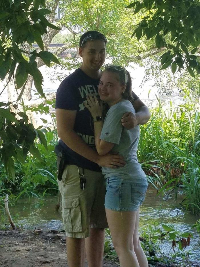 Kaylyn's Proposal in Bells Island, Richmond, Virginia