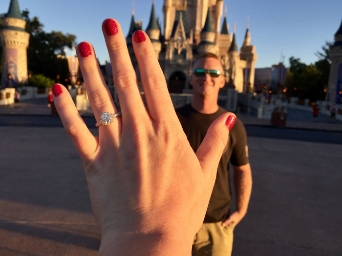 Chelsea's Proposal in Disney World