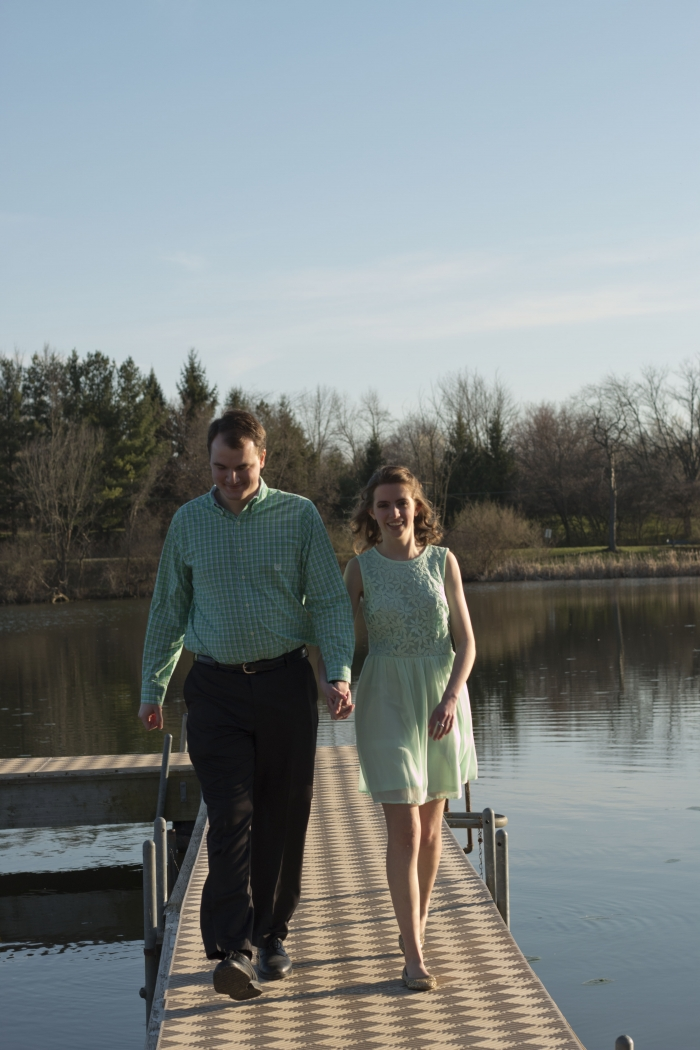 Where to Propose in Lake Mississinewa in rural Indiana
