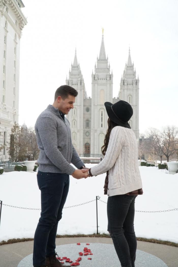 Marriage Proposal Ideas in Salt Lake City, Utah