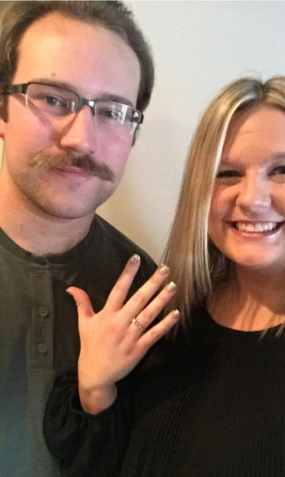 Kayla's Proposal in Valparaiso, IN (bride's apartment)