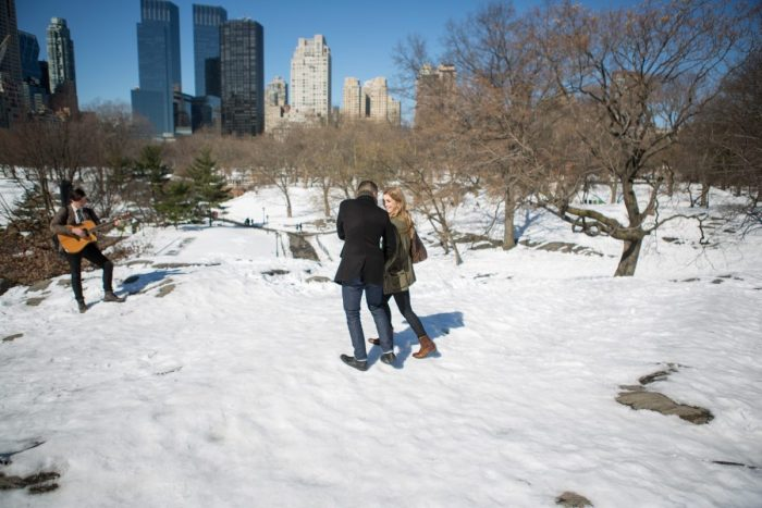 Wedding Proposal Ideas in Central Park, New York City