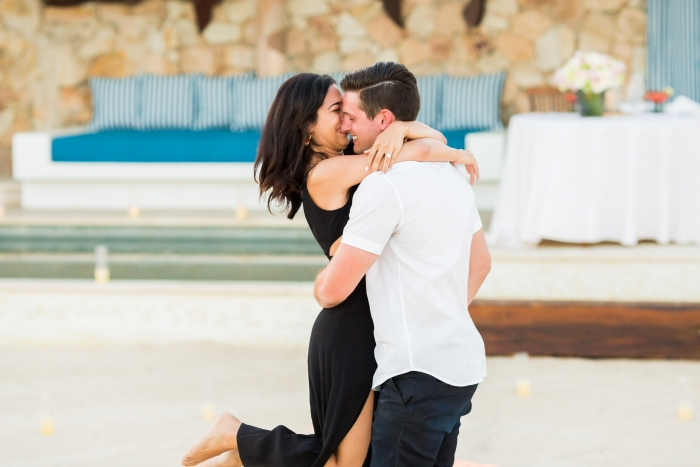 Melina and Dylan's Engagement in Cabo, San Lucas at Las Ventanas Resort
