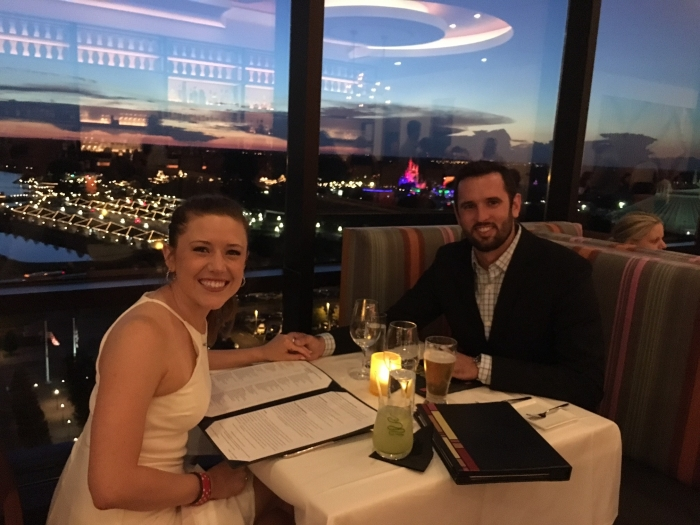 Danielle's Proposal in The California Grill; Walt Disney World