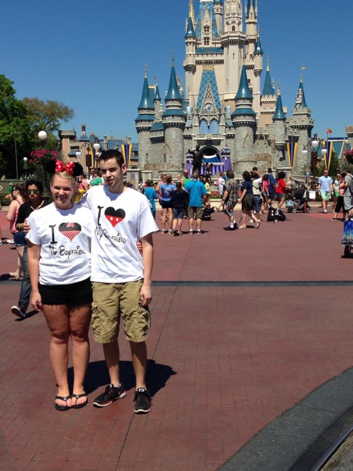 Engagement Proposal Ideas in In front of Cinderella's Castle at Magic Kingdom