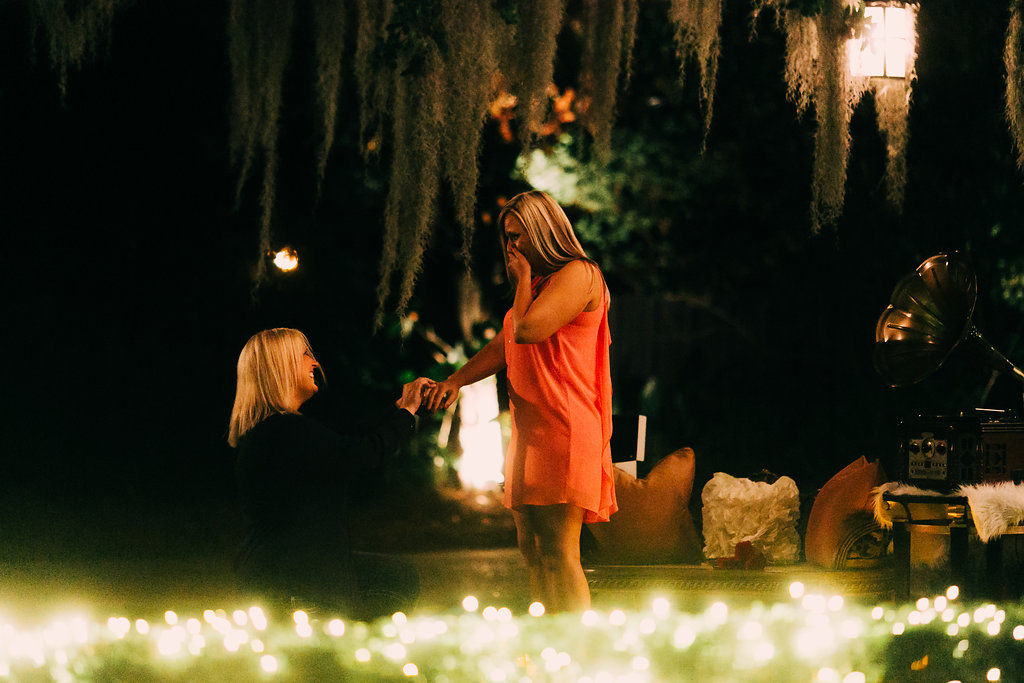 Marriage Proposal Ideas in Southern Oaks Plantation in New Orleans