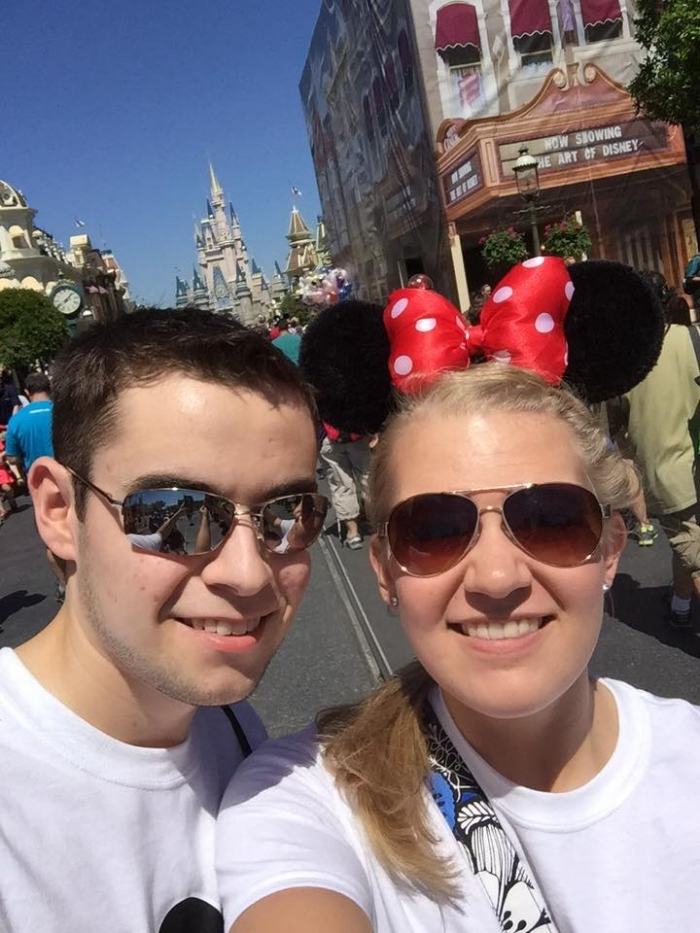 Wedding Proposal Ideas in In front of Cinderella's Castle at Magic Kingdom
