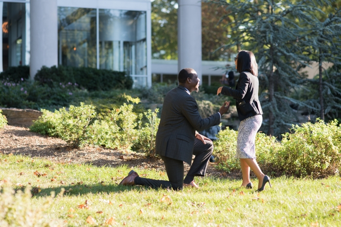 Where to Propose in 2941 Restaurant - Falls Church, Virginia