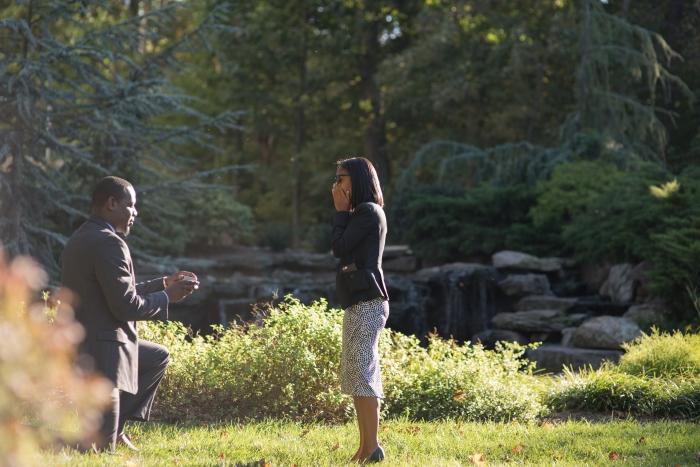 Engagement Proposal Ideas in 2941 Restaurant - Falls Church, Virginia
