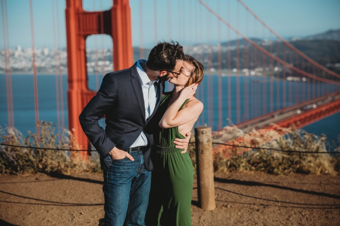 Jessica and Ryan's Engagement in Golden Gate Bridge, San Francisco