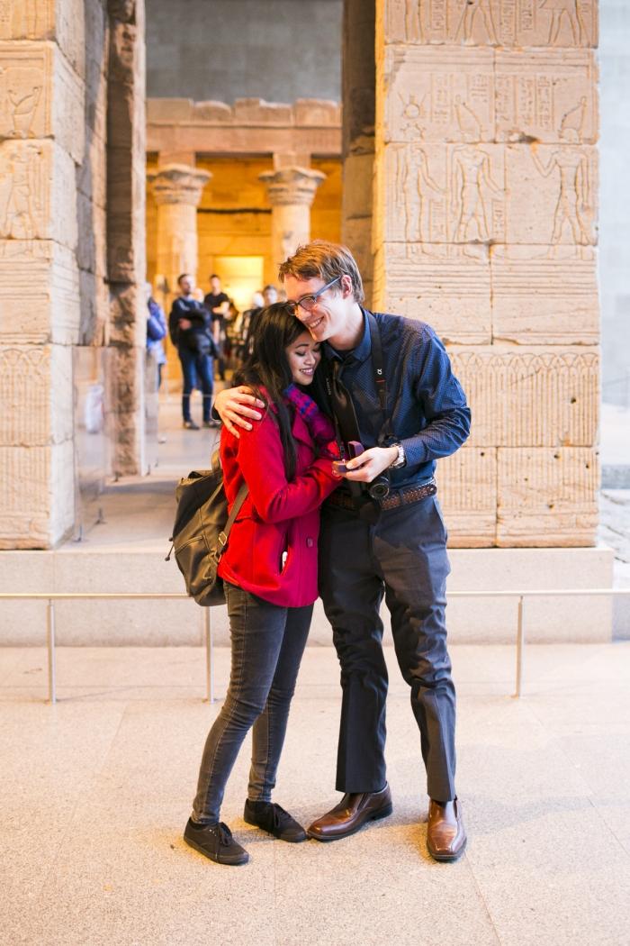 Engagement Proposal Ideas in Metropolitan Museum Of Art