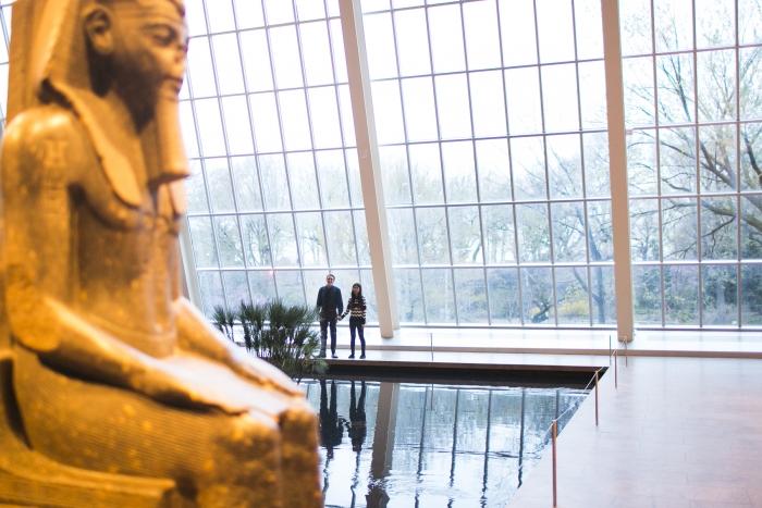 Rylan's Proposal in Metropolitan Museum Of Art