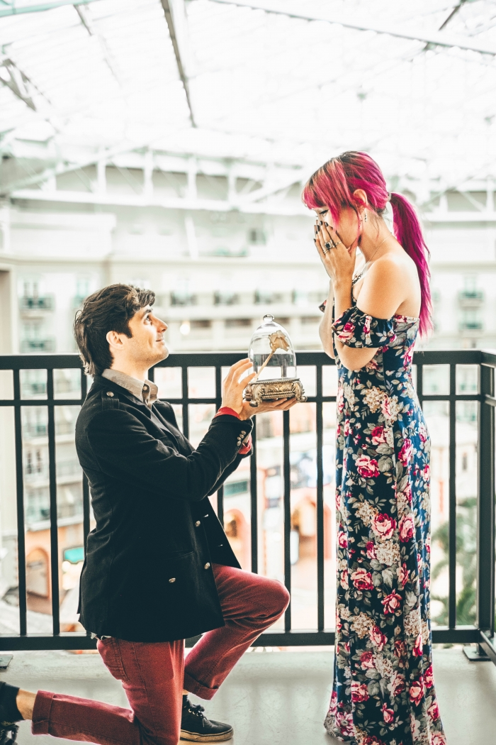 Wedding Proposal Ideas in Gaylord Palms Orlando