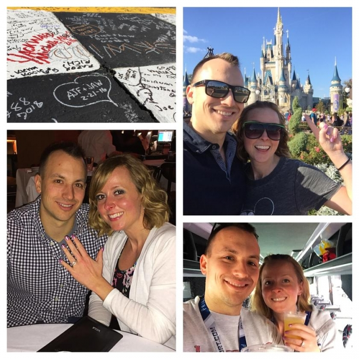 Jaime and Adam's Engagement in Disney Springs, Orlando