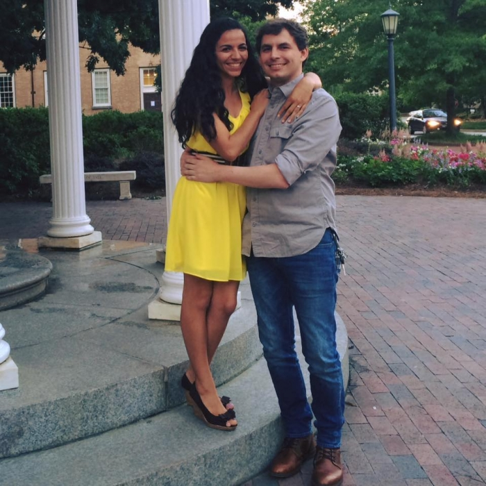 Brianna's Proposal in Chapel Hill, NC