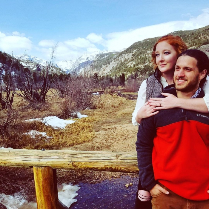 Sydnee Lea and Eric's Engagement in Rocky Mountain National Park