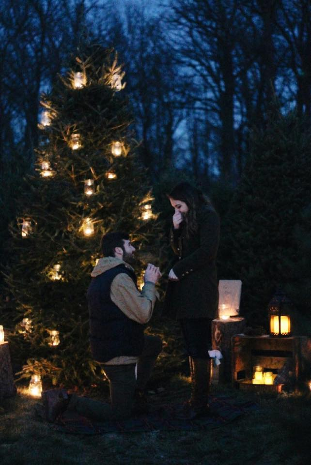 Where to Propose in Yeager's Tree Farm: Phoenixville, PA